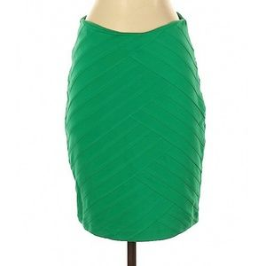 Express Green Bodycon Skirt 4